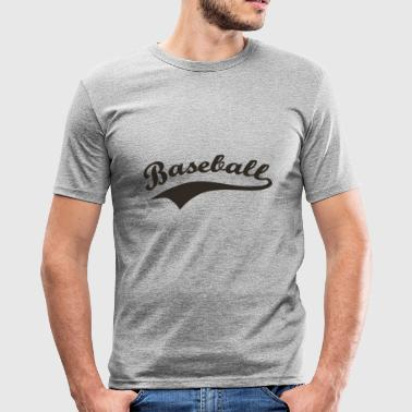 baseball - slim fit T-shirt