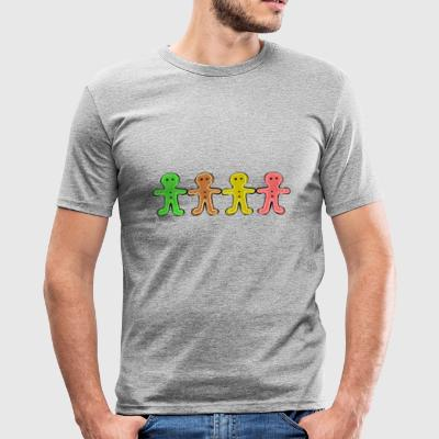 Gingerbread man - slim fit T-shirt