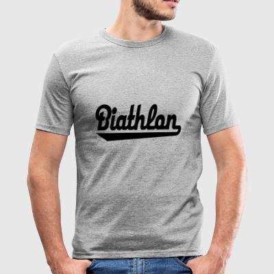 2541614 15384281 Biathlon - Herre Slim Fit T-Shirt