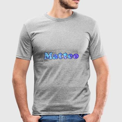 Name: Matthew - Männer Slim Fit T-Shirt