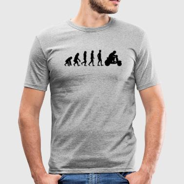 Evolution scooter driver - Men's Slim Fit T-Shirt