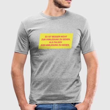 Gelindnert Lindner FDP - Männer Slim Fit T-Shirt
