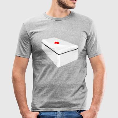 First aid kit - Men's Slim Fit T-Shirt