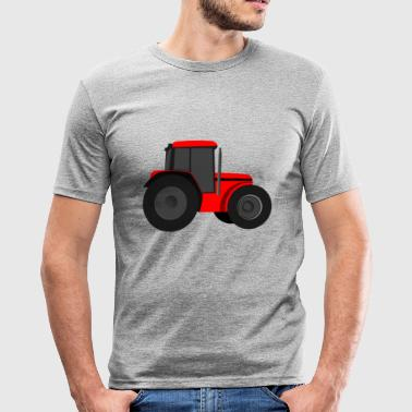 traktor - Slim Fit T-shirt herr