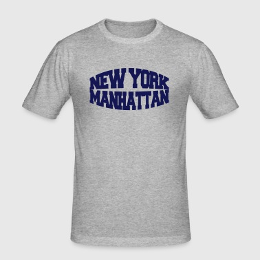 new york manhattan - Men's Slim Fit T-Shirt