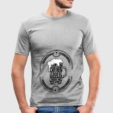 Sutler - Slim Fit T-shirt herr