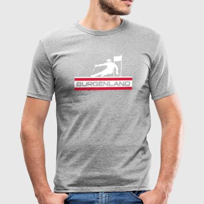 Ski Alpin_Burgenland - Men's Slim Fit T-Shirt