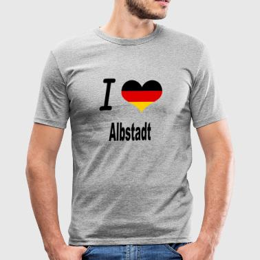 I Love Germany Home Albstadt - Männer Slim Fit T-Shirt