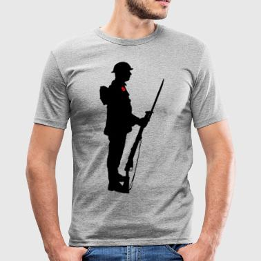 Soldat WW1 - Männer Slim Fit T-Shirt