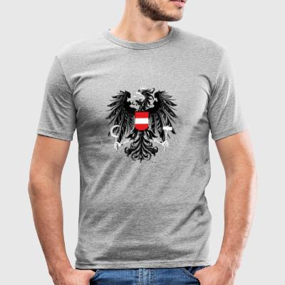 Austria coat of arms - Men's Slim Fit T-Shirt