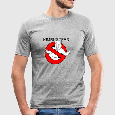 Kimbusters - Herre Slim Fit T-Shirt