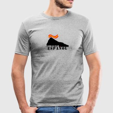 GIBRALTAR Spanish Grey - Herre Slim Fit T-Shirt