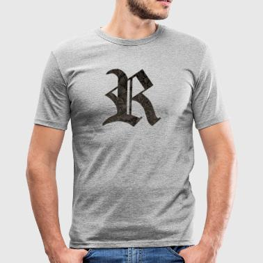 R Gothic - Men's Slim Fit T-Shirt