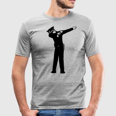 duppe Politi - Herre Slim Fit T-Shirt