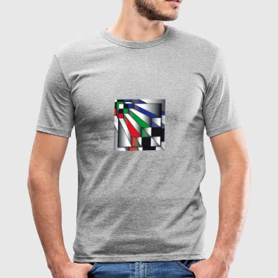 Stairs. on art - Men's Slim Fit T-Shirt