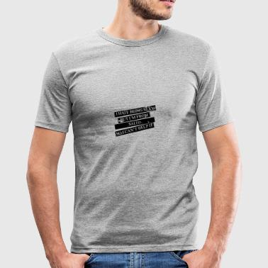 Motiv for byer og lande - SALTO - Herre Slim Fit T-Shirt