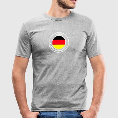 NEUSTADT IN SACHSEN - Men's Slim Fit T-Shirt