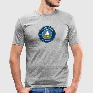 LIFE IS BETTER AT THE LAKE | Koepenick - Men's Slim Fit T-Shirt