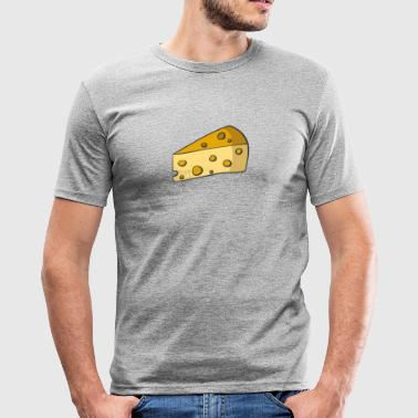 cheese - Men's Slim Fit T-Shirt