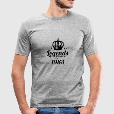Legends 1983 - slim fit T-shirt