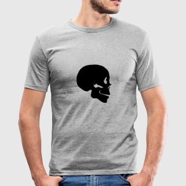 skalle - Slim Fit T-shirt herr