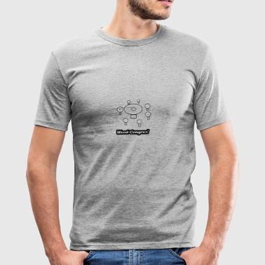 mauvaise herbe - Tee shirt près du corps Homme
