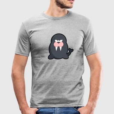 Life Walrus - Herre Slim Fit T-Shirt