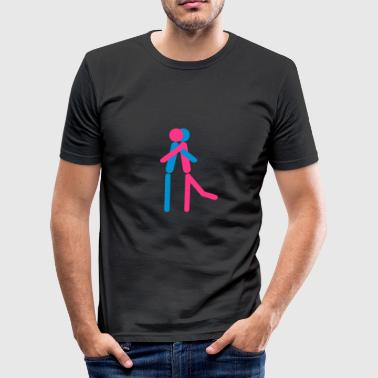 Hug Symbolen Love Hug - slim fit T-shirt