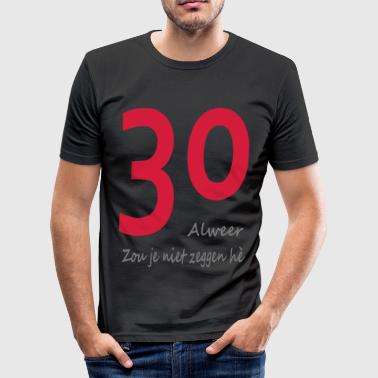 30 - slim fit T-shirt