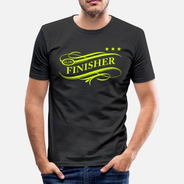 Finisher Finisher2 Personnalisable - T-shirt près du corps Homme