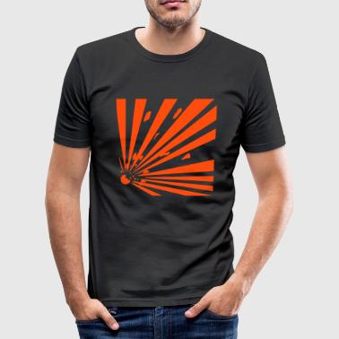 Explosiv - Männer Slim Fit T-Shirt