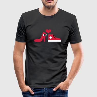 Shoes in love - slim fit T-shirt