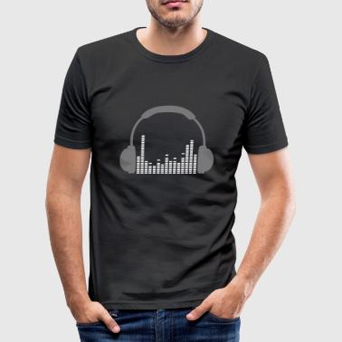 phones - Männer Slim Fit T-Shirt