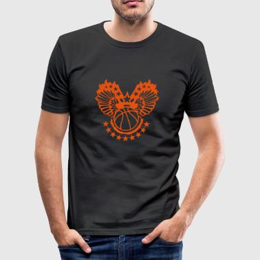 basketball aile wing fly17 vole sport - Tee shirt près du corps Homme