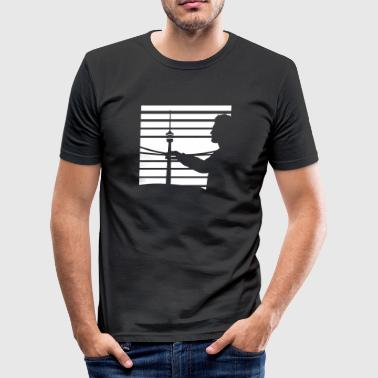 Best view - Männer Slim Fit T-Shirt