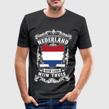 Nederland - Holland - slim fit T-shirt