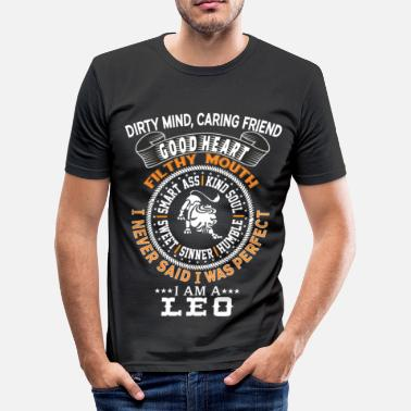 I Am A Leo I AM A LEO - Men's Slim Fit T-Shirt