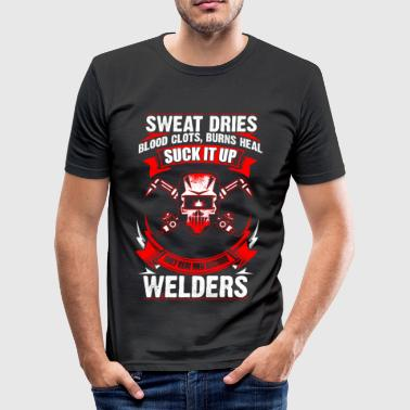 Only Real Men - Welder - EN - T-shirt près du corps Homme