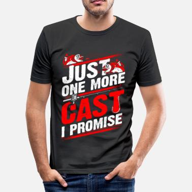 Just Just 1 more Cast - Fishing - EN - slim fit T-shirt