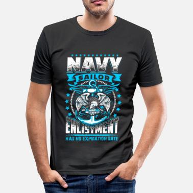 Navy Seals Navy Oath - EN - slim fit T-shirt