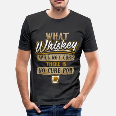 Whiskey Whiskey Cure - EN - slim fit T-shirt