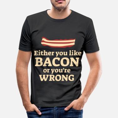 Bacon Bacon Bacon - Herre Slim Fit T-Shirt