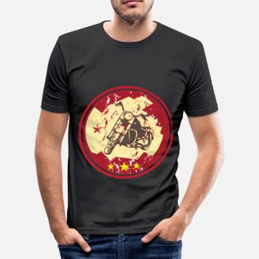 Chopper chopper motorfiets - slim fit T-shirt