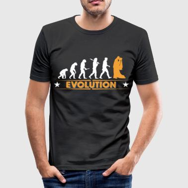 Evolution Of Marriage Marriage - evolution - Men's Slim Fit T-Shirt