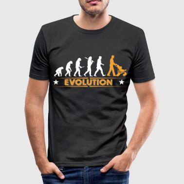 Walking Dad - Evolution - slim fit T-shirt