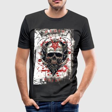 Heavy Metal Death Metal Heavy Rock Music - Men's Slim Fit T-Shirt
