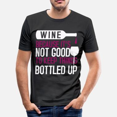 Wine Festival Wine Palatinate Winzer Wine Festival - Men's Slim Fit T-Shirt