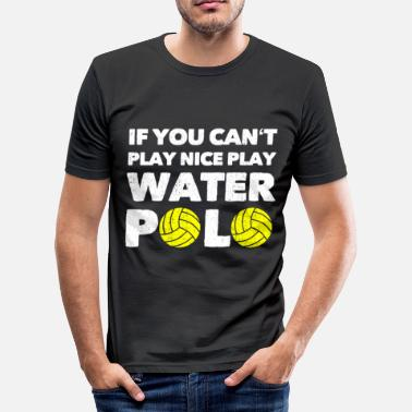 Doelman Waterpolo Waterpolo Waterpolo Sport Geschenk - slim fit T-shirt