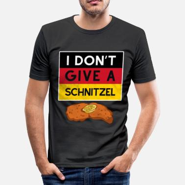 Beerfest Octoberfest schnitzel German Beerfest - Men's Slim Fit T-Shirt