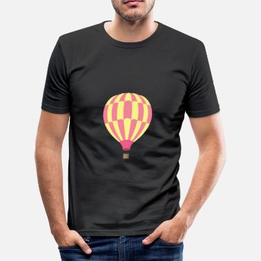 Clipart Clipart luchtballon - slim fit T-shirt